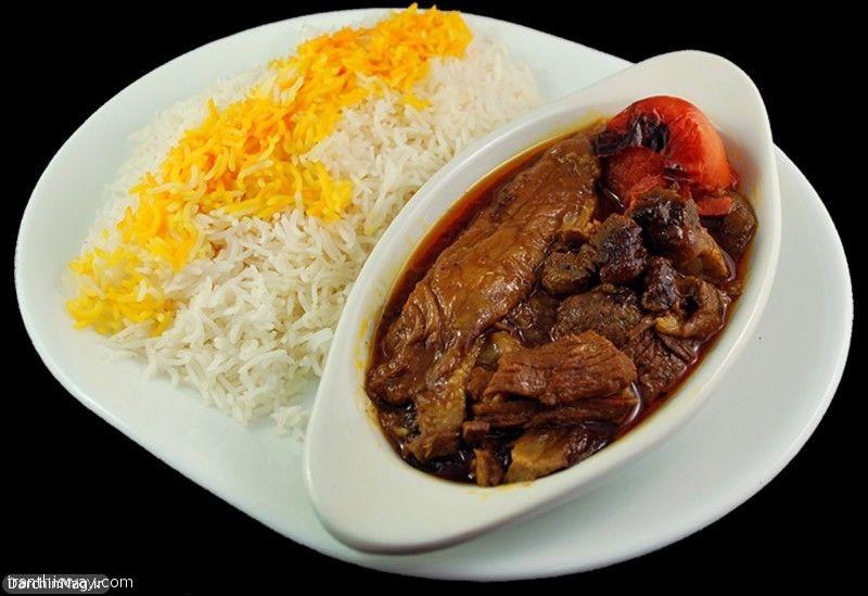 Bademjan (Eggplant And Tomato Stew)