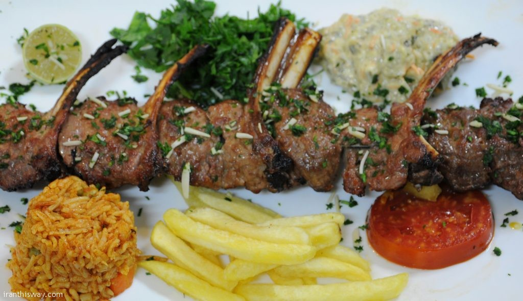 Kebabs come in many kinds: beef, chicken, lamb liver, among them.