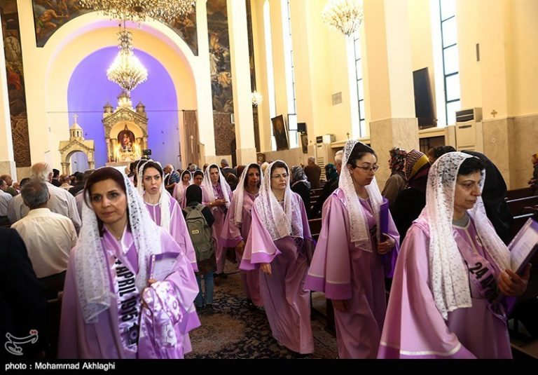 Iran's Armenians Hold Rally to Mark Anniversary of 1915 Genocide