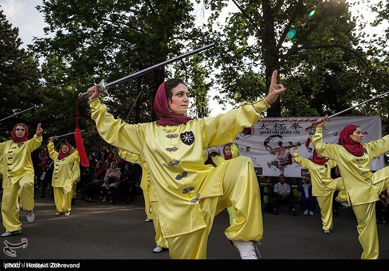 Tehran's women Observe World Tai Chi, Qigong Day