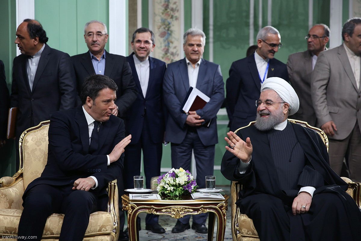"President Rouhani described the signing of 36 cooperation documents between Iran and Italy in the recent months as the illustrator of the firm resolve of the two countries for developing ties and cooperation and said: ""Italian Prime Minister's trip to Tehran is a significant start for developing Tehran-Rome ties in different economic, scientific, technological and tourism fields, as well as consultation and coordination in important regional and international issues""."
