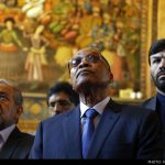 South Africa's President Zuma Visits Isfahan