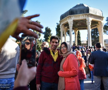 An uptick in tourism of Iran
