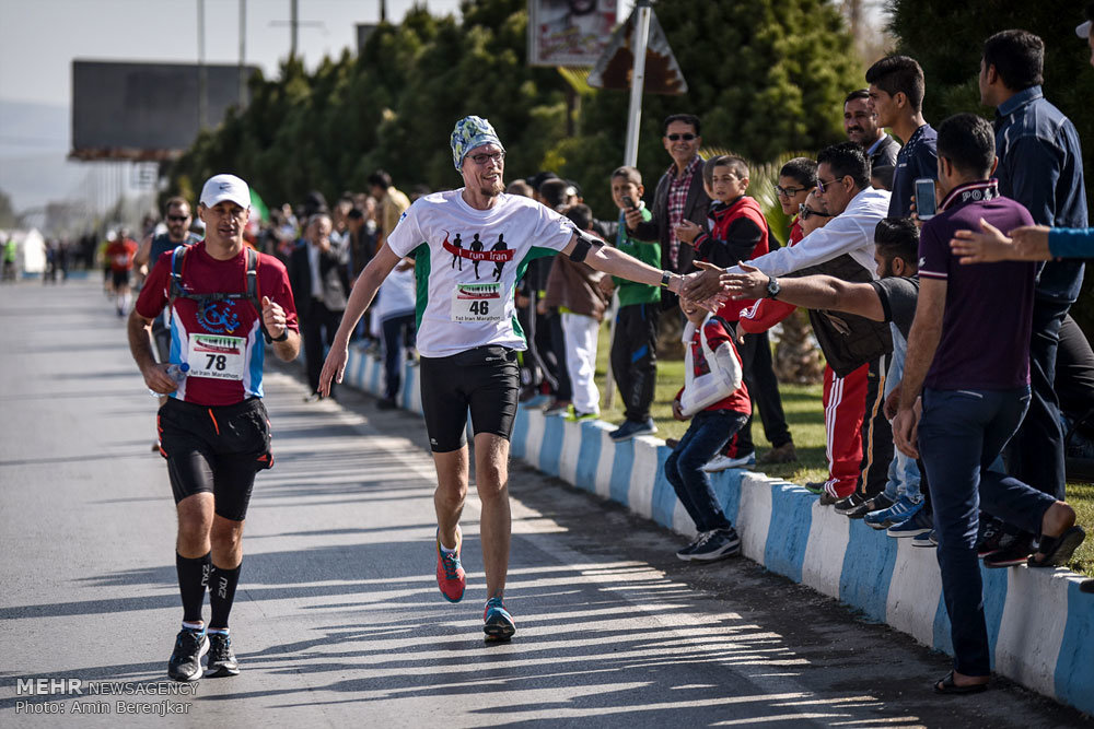Persepolis Historical Complex hosts first intl. marathon