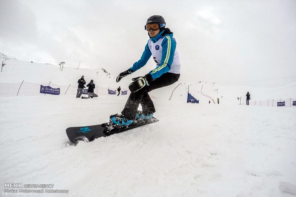 Dizin ski resort hosts intl. snowboard competition