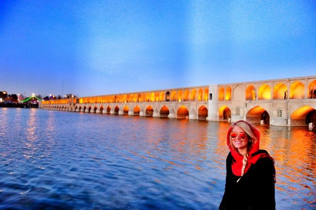 Time lapse video: Historical Bridges Isfahan