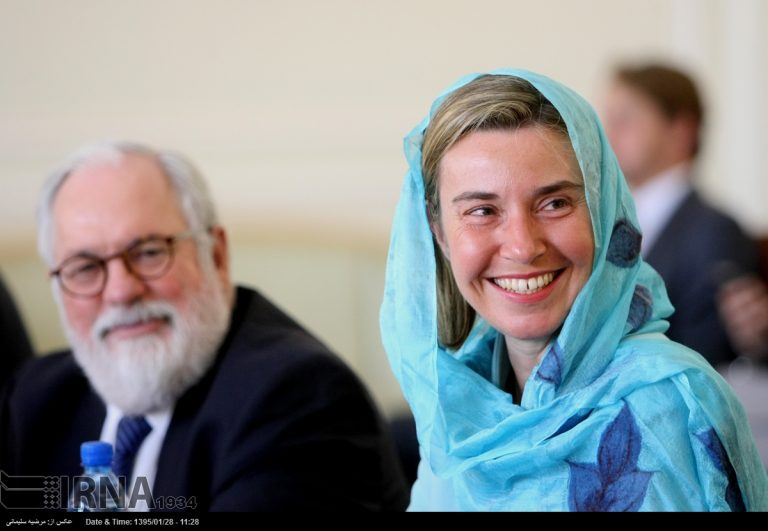 EU mission in Iran; Sign MoUs on research