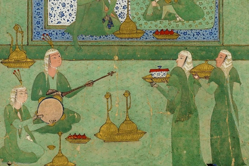 persian music minature