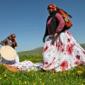 rasbaran, beautiful region of East Azerbaijan province, is home to about 23,500 nomads who had preserved their traditional lifestyle and keep moving from one place to another in different seasons.