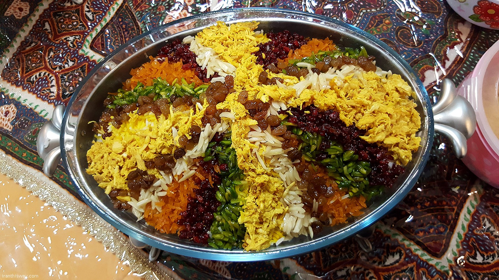 Jeweled Rice (Rice with Nuts and Dried Fruit)