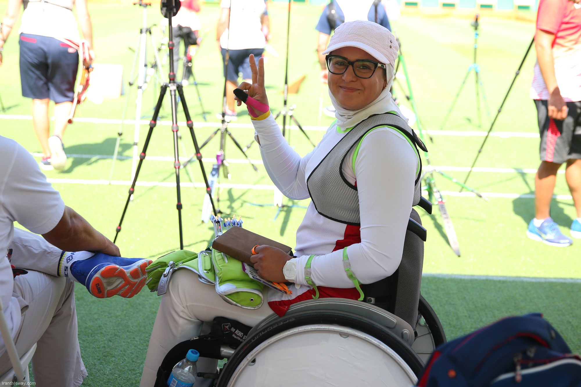 Iranian woman performance second best in Rio 2016