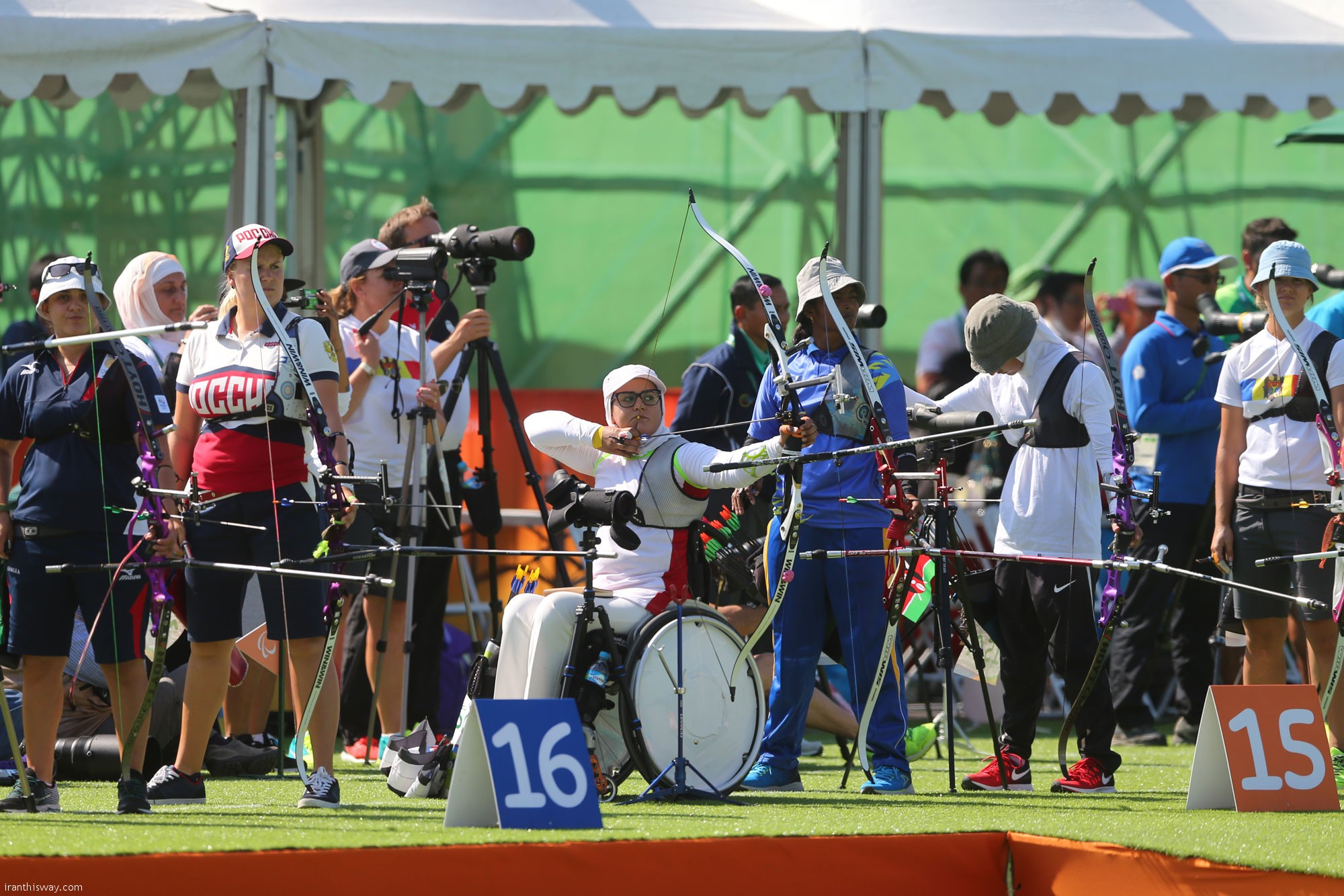 IPC selects Zahra Nemati Iranian paralympics archer as best athlete