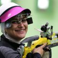 Najmeh Khedmati, IRANIAN women athletes in action at Rio 2016 Olympics