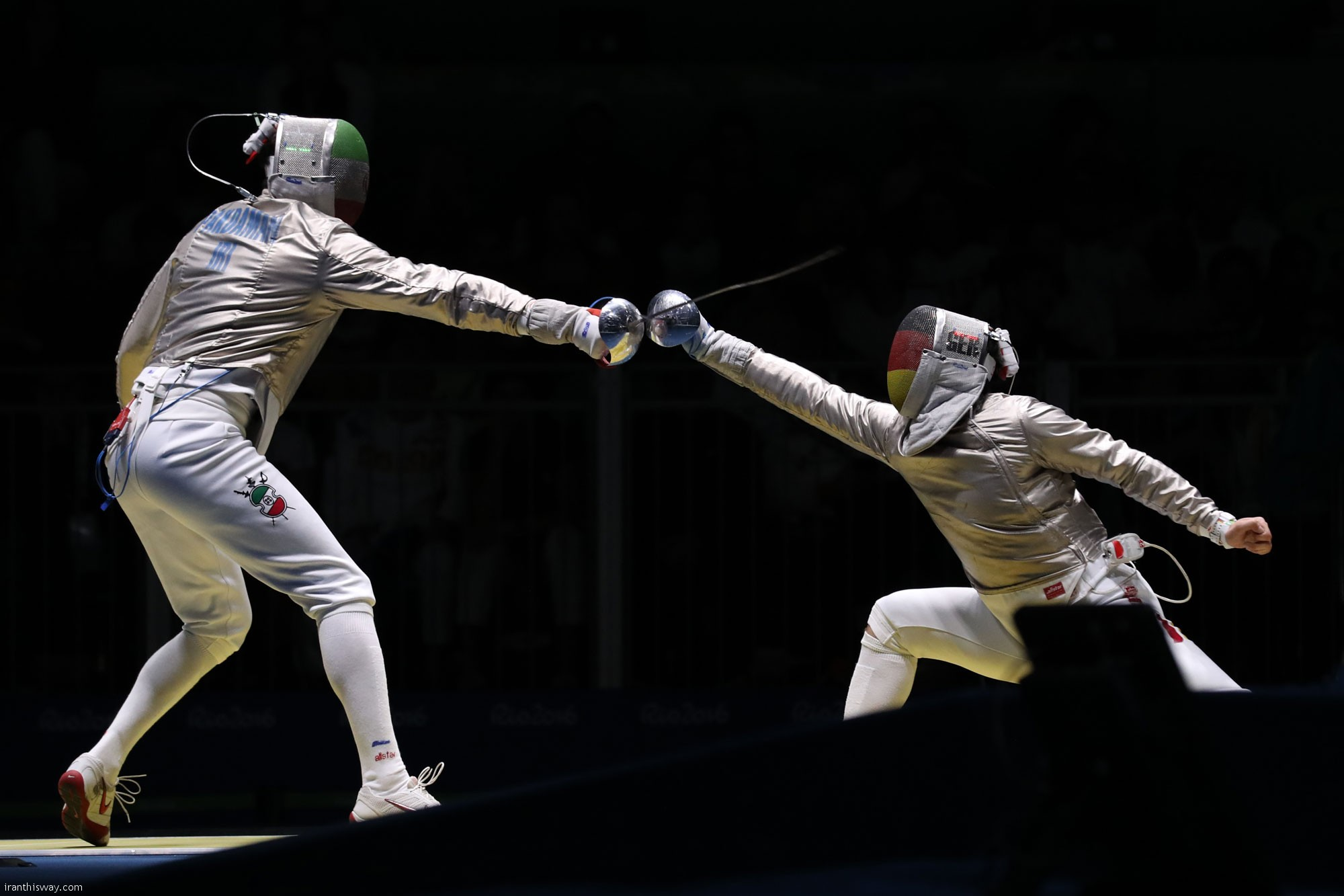 Abedini Iranian fencer jumps places in world ranking