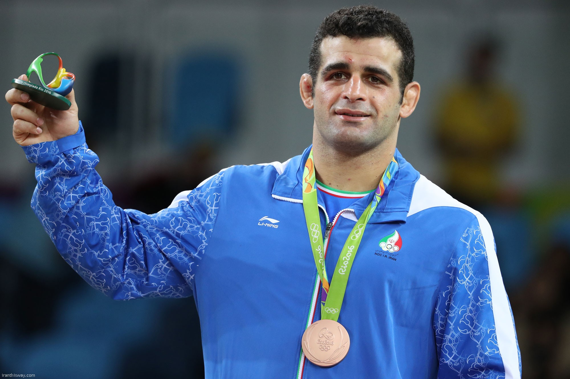 Rezaei bags bronze medal in 2016 Olympic / Photo