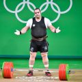 Iran's super heavyweight weightlifter Behdad Salimi, while beating the world record in snatch, failed in his three clean and jerk attempts dropping out of Rio Olympics.