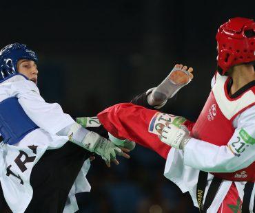 Ashourzadeh Iranian Taekwondo gold hopeful eliminated in surprise / Photo