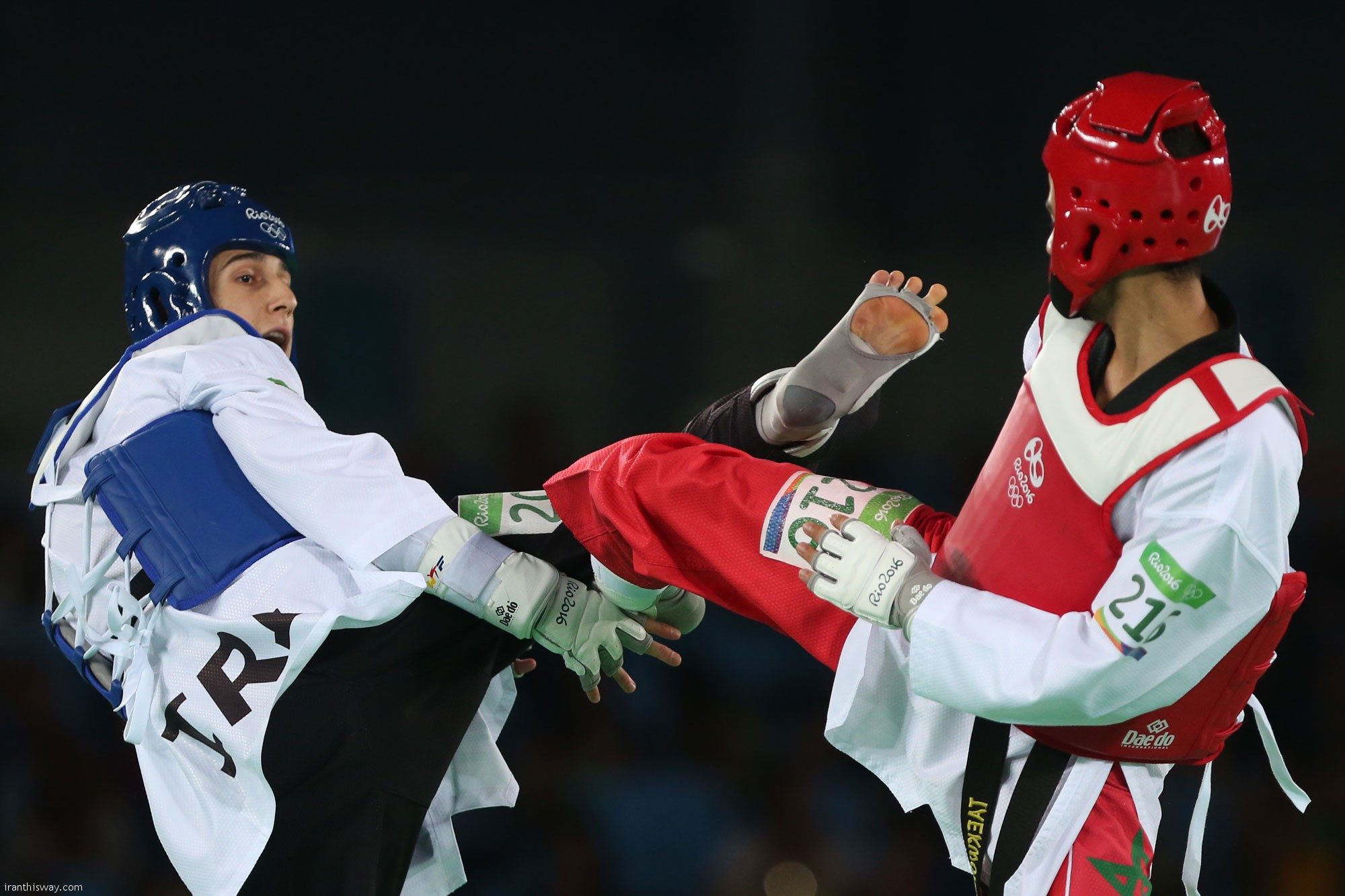 Ashourzadeh Iranian Taekwondo gold hopeful eliminated in surprise / Photo