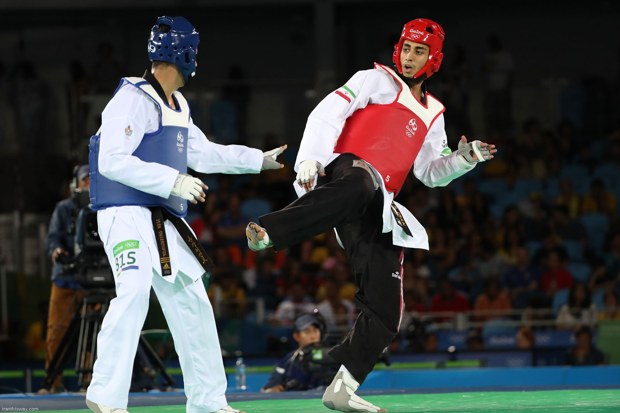 Iran's Mardani fades Rio 2016 Olympics in golden round