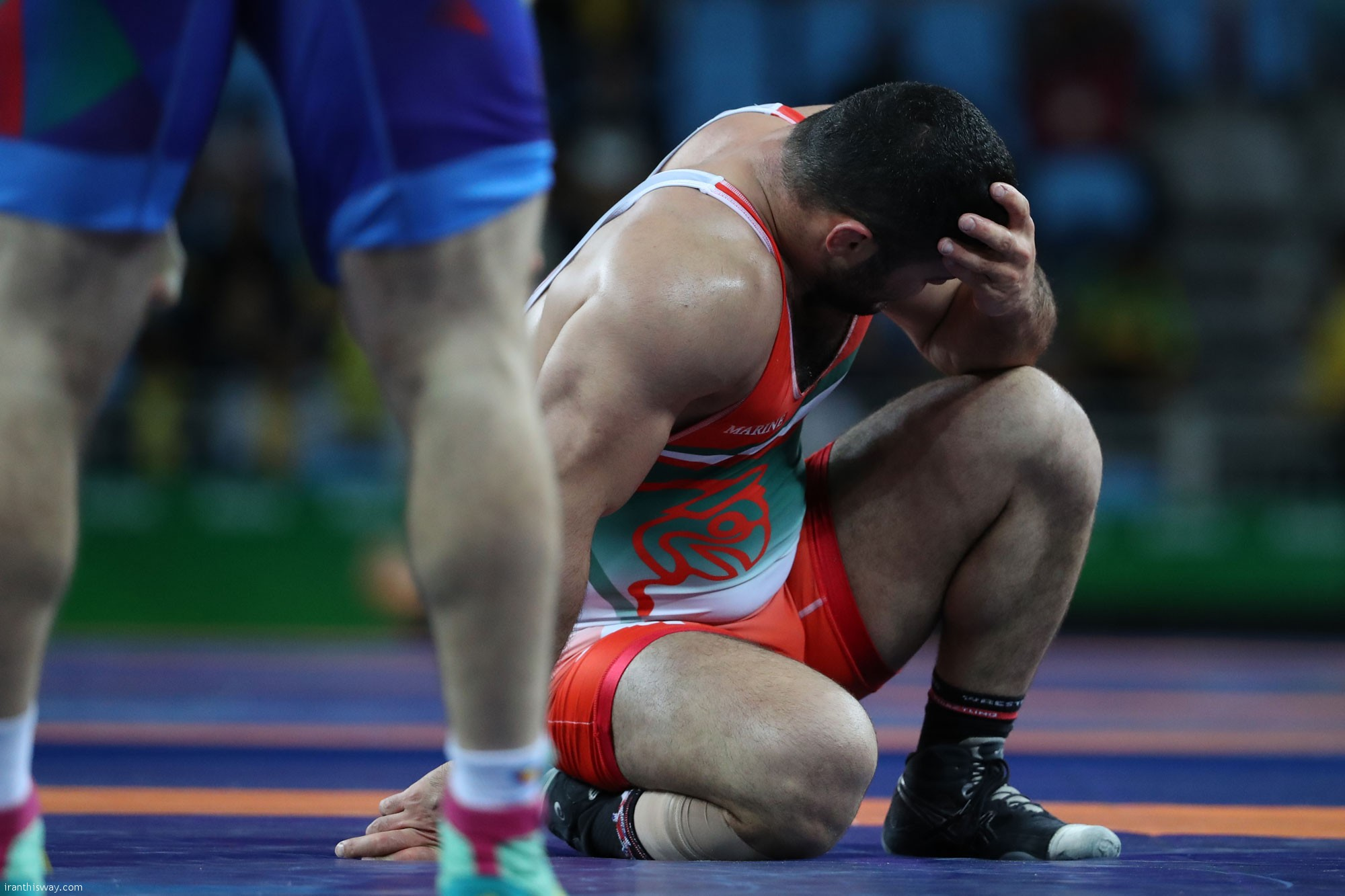 Iran's freestylers hopeful for a bronze in last minutes /Video+Photo