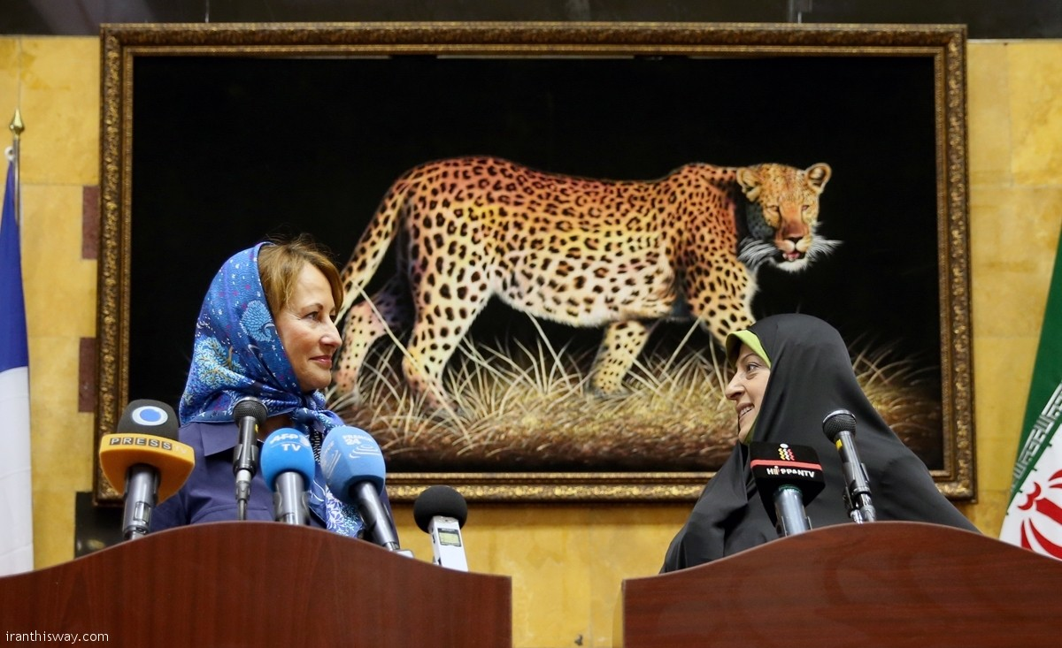 IRAN-FRANCE announce environmental agreements