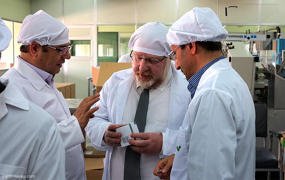 Iran to export medicine to Europe