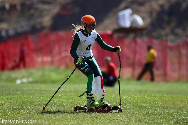 Grass ski juniors world championship hosted in IRAN