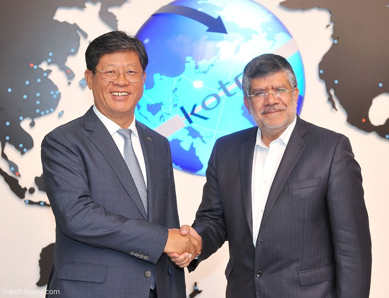 Head of Iran's Trade Promotion Organization and CEO of South Korean Trade-Investment Promotion Agency (KOTRA) have agreed to establish Tehran and Seoul joint trade desk.