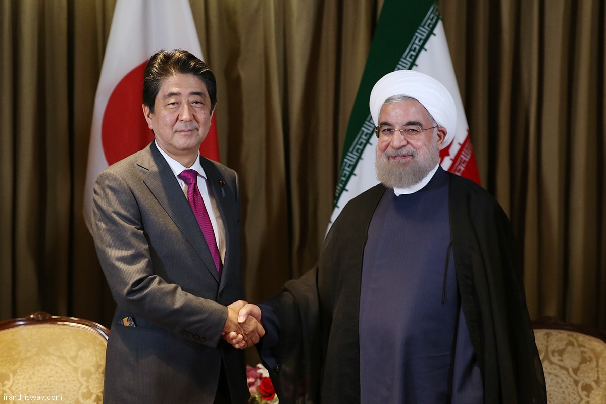 President Rouhani made the remarks in a meeting with Japanese Prime Minister Shinzo Abe on the sidelines of the 71st session of the UN General Assembly in New York.