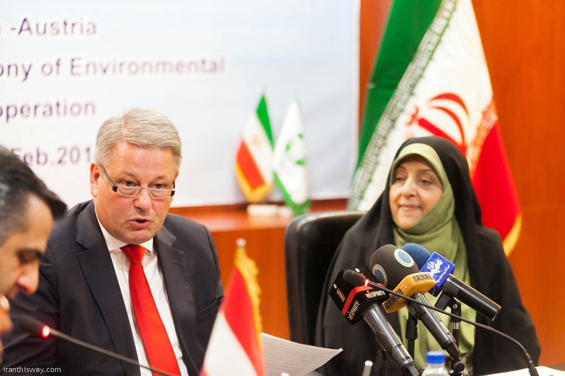 Austria, Iran sign environment coop. MoU