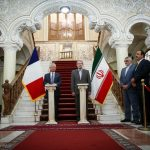 Iran's Parliament speaker has received President of French National Assembly.