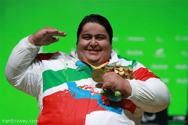 Iran's Siamand Rahman makes history by breaking 300kg barrier +video