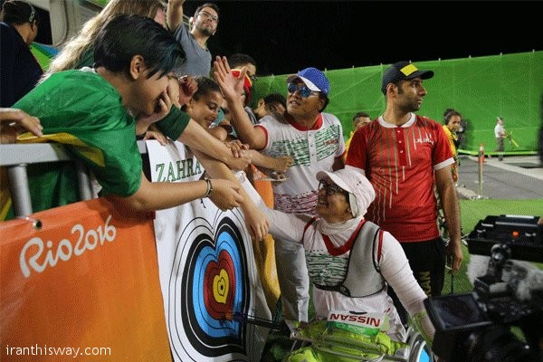 Iranian Para archer girl makes Olympic history