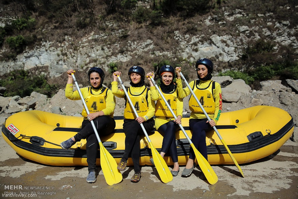 Rafting championships of Iran/ Photo