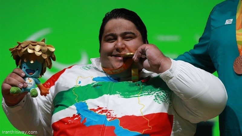 Iran's Siamand Rahman wrote his name into the history books after doing what no man had ever done before – he cleared the bar at 310kg in the men's over 107kg, setting a new world record and claiming his second consecutive Paralympic gold. Rahman won gold at London 2012 with a 280kg lift.