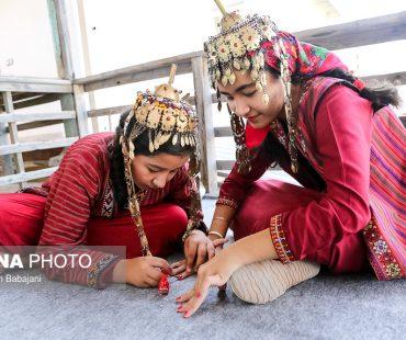 Turkmen traditional wedding ceremony + Photo