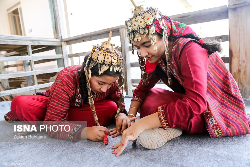 Turkmen traditional wedding ceremony + Photo