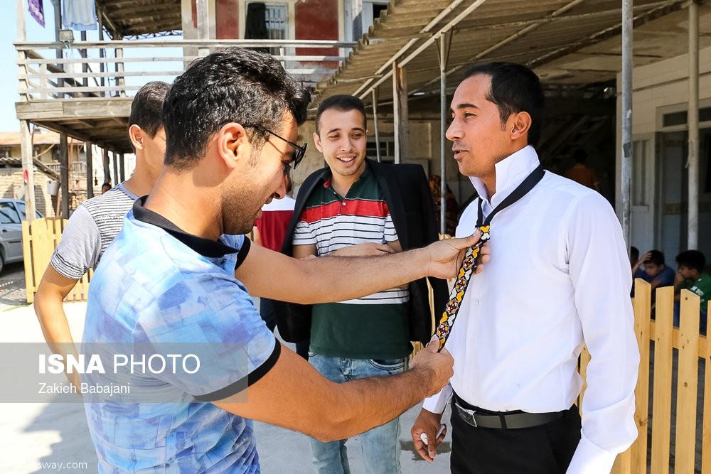 Turkmen traditional wedding ceremony photo iran this way become turkmen wedding m4hsunfo