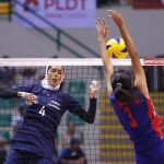 The Chinese Taipei women's national volleyball team has defeated the Iranian side to finish fifth at the end of the 2016 Asian Women's Cup Volleyball Championship in Vietnam.