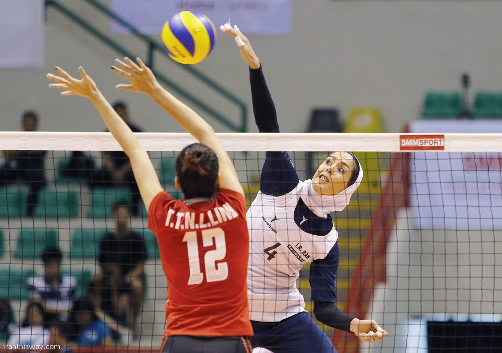 On Tuesday, the Taiwanese squad defeated Iran 3-1, with the set scores of 25-21, 25-21, 23-25 and 25-22, in the 5th place match held at Vinh Phuc Gym in the mountainous and northern Vietnamese city of Vinh Phuc.