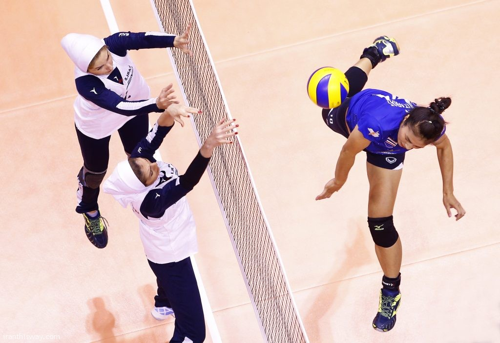 Iranian girls knows rivals at Asian U-18 Volleyball Championship