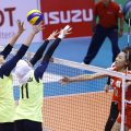 Iran's women's volleyball squad defeated Taiwan's team 3-0 at the Asian Women's Club Volleyball Championship which was held in the Philippines on Wednesday.