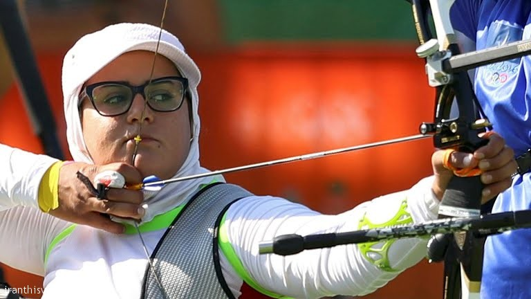 Zahra Nemati win Iran's 7th gold in Rio paralympics