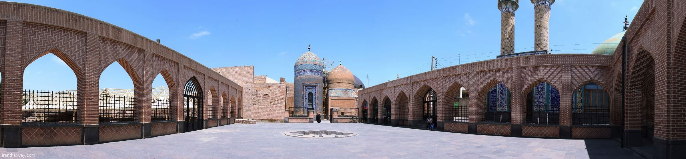 The mausoleums of Sheikh Safieddin Ardabili and Sheikh Kalkhoran are symbols of Islamic-Iranian architecture.
