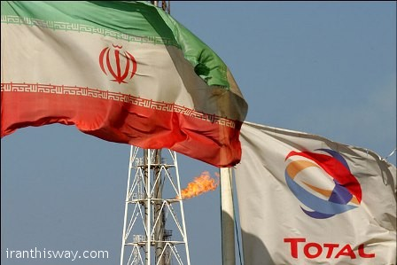 Iran sign a Gas deal with France's Total