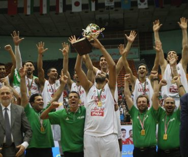 Iran champion of FIBA Asia Challenge cup