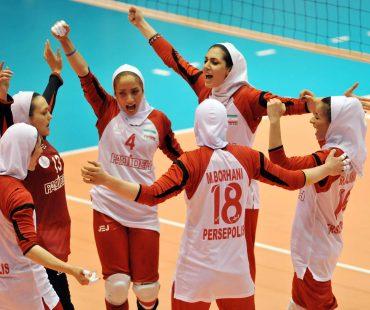 Video: Iranian girls side make winning start to AVC cup
