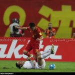Failed to deliver a goal, the national football team of Iran and the Chinese national football team left the pitch with a scoreless draw at Shenyang Olympic Sports Center Stadium on Tuesday 06 September 2016.
