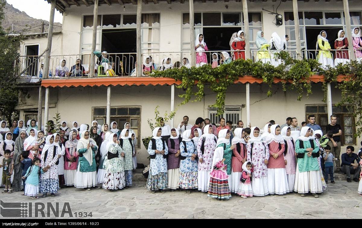 A traditional wedding ceremony in Gilan