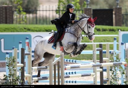 The International show jumping competitions began in Tehran + photo